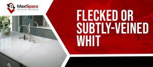 Flecked or Subtly-Veined Whit