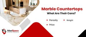 Marble Countertops – Cons