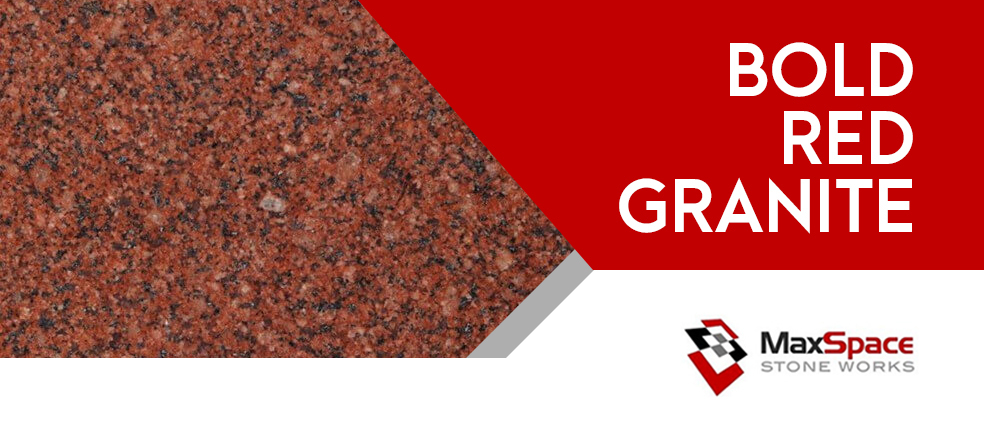 Bold Red Granite