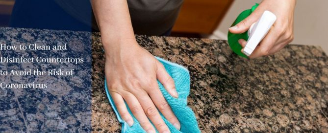 Cleaning & Disinfecting Countertops