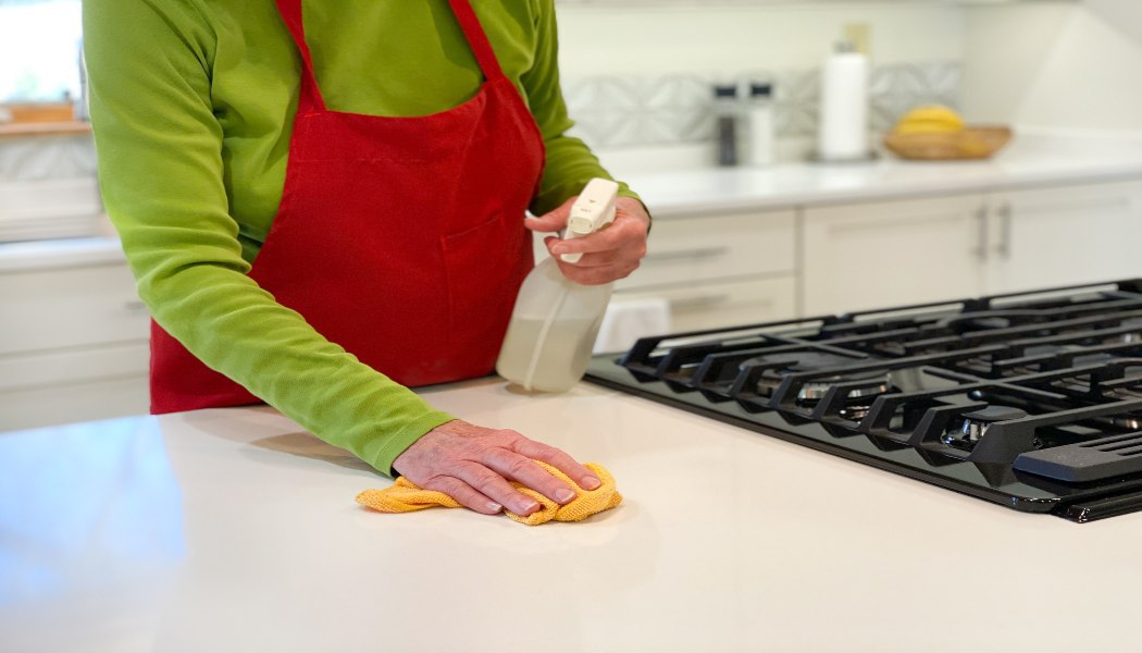 Cleaning & Disinfecting Countertops to Reduce COVID-19 Risk