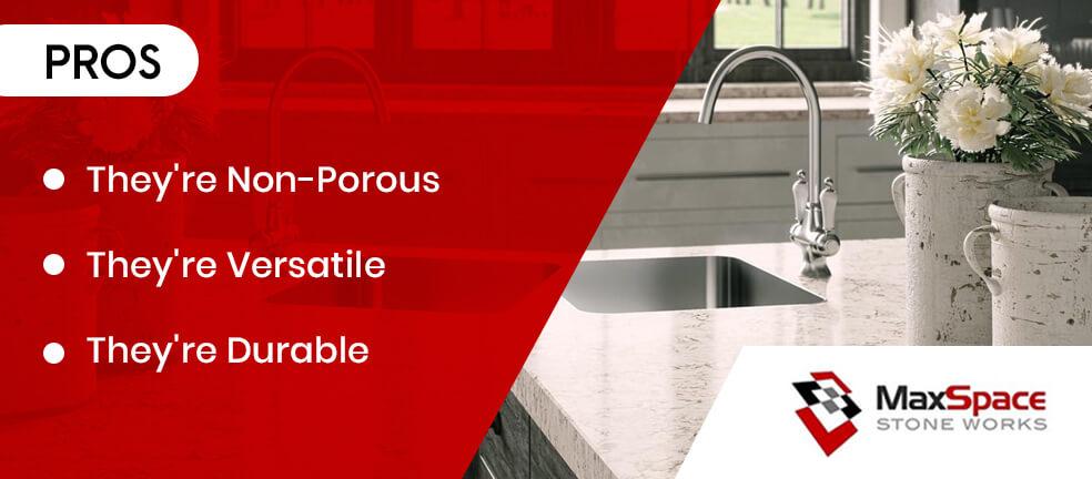 Advantages of Caesarstone Countertops