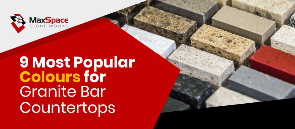 9 Most Popular Colours for Granite Bar Countertops