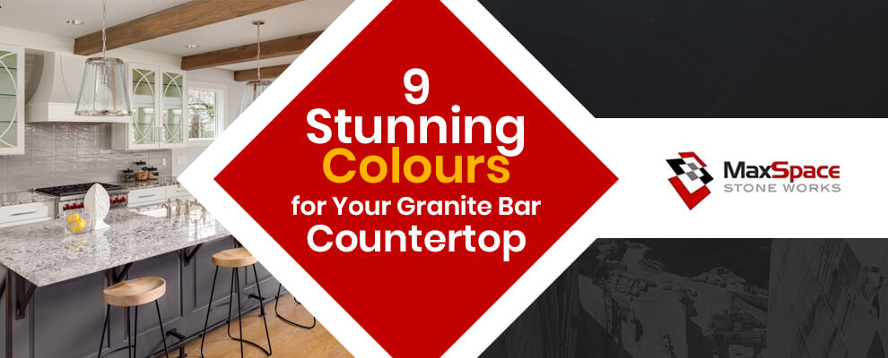 9 Stunning Colours for Your Granite Bar Countertop