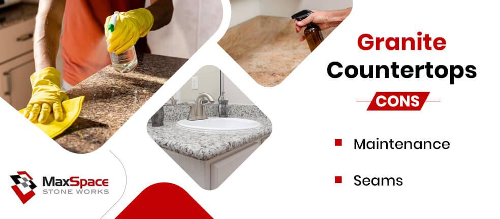 Cons Granite Countertops